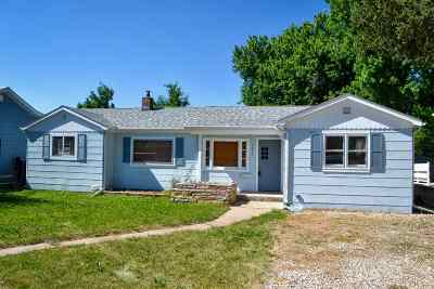 Belle Fourche Single Family Home Uc-Contingency-Take Bkups: 1021 Omaha
