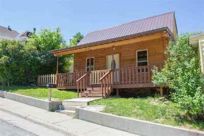 Deadwood, Lead Single Family Home Uc-Contingency-Take Bkups: 313 Mill