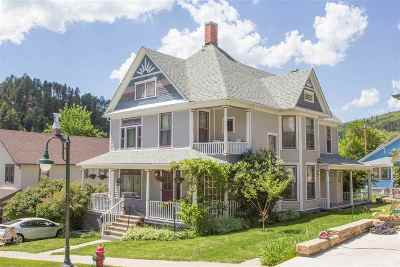 Deadwood, Lead Single Family Home For Sale: 21 Lincoln