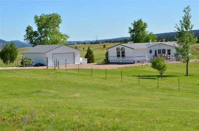 Hot Springs Single Family Home For Sale: 27075 Us Highway 385