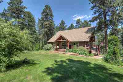Spearfish Single Family Home Uc-Contingency-Take Bkups: 5020 Lazy Horse