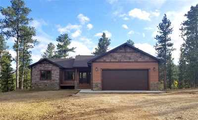 Deadwood, Lead Single Family Home For Sale: 21311 Outlaw