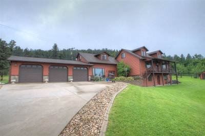 Spearfish Single Family Home For Sale: 115 Pine Cone
