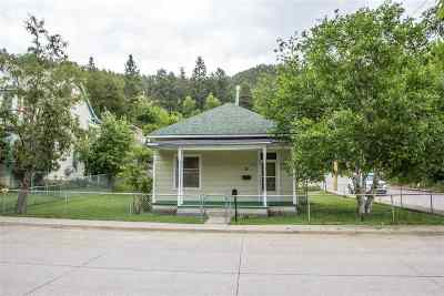 Deadwood, Lead Single Family Home Uc-Contingency-Take Bkups: 25 Jackson