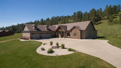Spearfish Single Family Home Uc-Contingency-Take Bkups: 19876 Gobbler Road