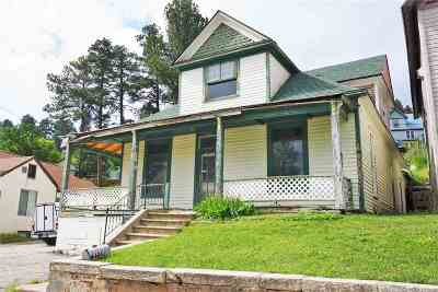 Deadwood, Lead Single Family Home For Sale: 604 Railroad
