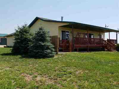 Belle Fourche Single Family Home For Sale: 10709 Sourdough