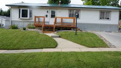 Spearfish Single Family Home Uc-Contingency-Take Bkups: 1205 W Jackson Blvd.