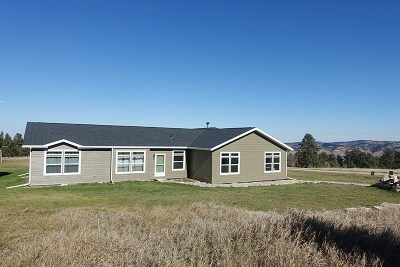 Spearfish Single Family Home For Sale: 2020 Lone Tree