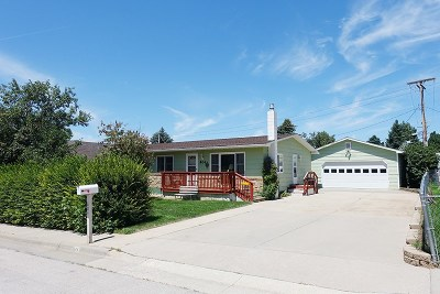 Spearfish Single Family Home Uc-Contingency-Take Bkups: 804 E Grant