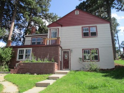Deadwood, Lead Single Family Home For Sale: 503 W Addie St.