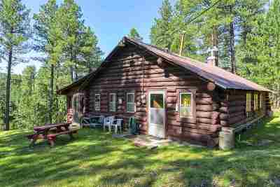 Deadwood Single Family Home For Sale: 21466 Tin Cup