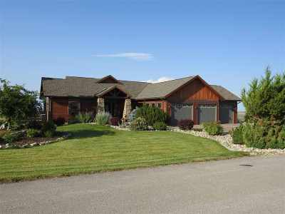 Belle Fourche Single Family Home For Sale: 19288 Hat Ranch Drive