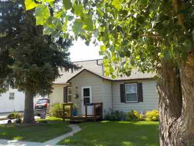 Belle Fourche SD Single Family Home Financing Contingency: $110,900