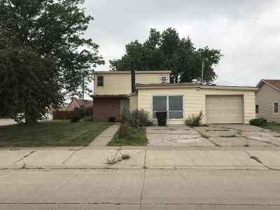 Belle Fourche Single Family Home Uc-Contingency-Take Bkups: 1726 13th