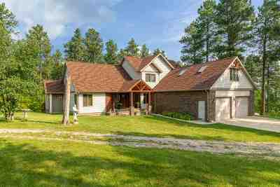 Spearfish SD Single Family Home For Sale: $525,000