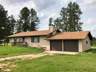 Custer Single Family Home For Sale: 12250 Sunset