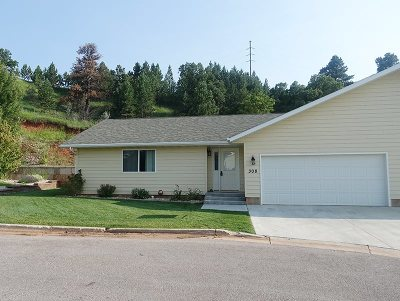 Spearfish Single Family Home For Sale: 308 Cottage Hill