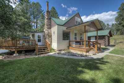 Custer SD Single Family Home Uc-Contingency-Take Bkups: $213,000