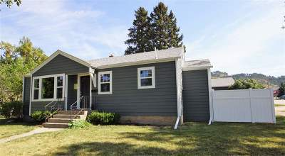 Spearfish SD Single Family Home For Sale: $210,000
