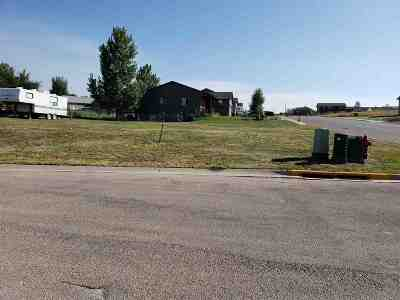 Belle Fourche Residential Lots & Land Sale Of Prop Contingency: Lot 10 Blk 5 Ridgeview Addition