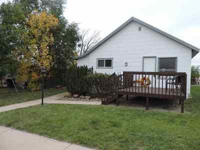Belle Fourche SD Single Family Home For Sale: $129,900