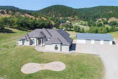 Deadwood, Lead Single Family Home For Sale: 20789 76 Ranch