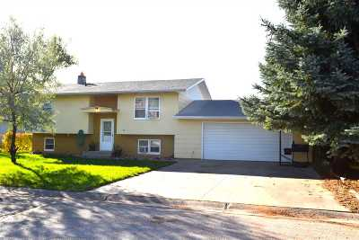Spearfish Single Family Home Uc-Contingency-Take Bkups: 6 Rose