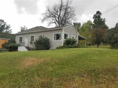 Whitewood Single Family Home Uc-Contingency-Take Bkups: 721 Dillon