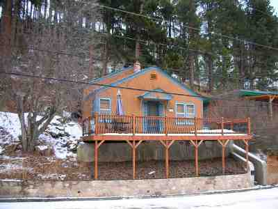 Deadwood Single Family Home Uc-Contingency-Take Bkups: 124 Denver Avenue