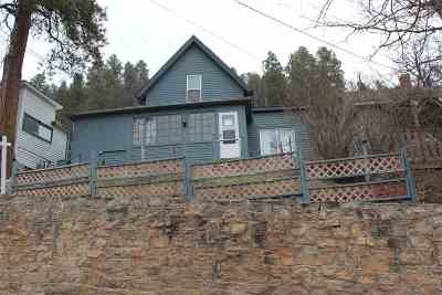 Deadwood SD Single Family Home For Sale: $90,000