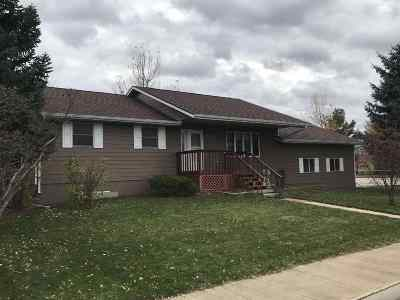 Belle Fourche Single Family Home For Sale: 612 Summit
