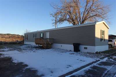 Spearfish SD Single Family Home For Sale: $53,500