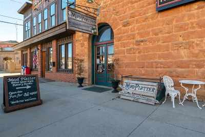 Spearfish, Deadwood/central City, Deadwood, Strugis, Whitewood, Belle Fourche, Spearfish Canyon Commercial For Sale: 111 E Hudson Street