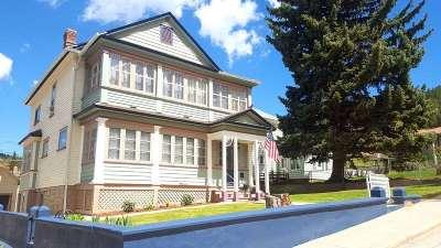 Deadwood, Lead Single Family Home For Sale: 15 Washington