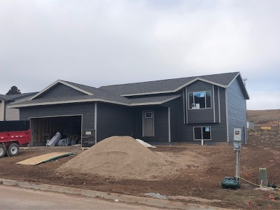 Sturgis Single Family Home For Sale: Lot 2 Block 3 Meadows