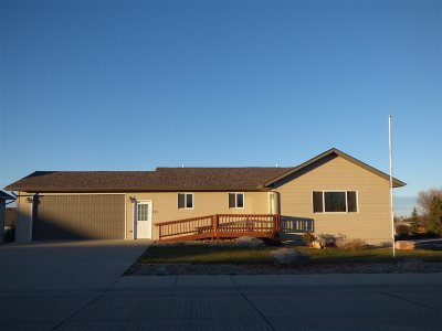 Belle Fourche Single Family Home Uc-Contingency-Take Bkups: 727 Taylor Ct