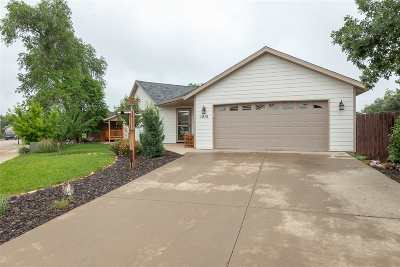Spearfish Single Family Home Uc-Contingency-Take Bkups: 1916 Sugar Creek Place