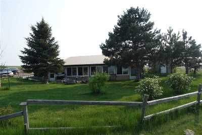 Belle Fourche Single Family Home For Sale: 11714 Hwy 212