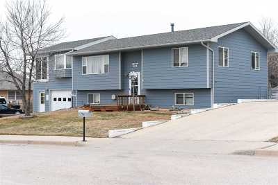 Spearfish Single Family Home Uc-Contingency-Take Bkups: 714 E Hudson