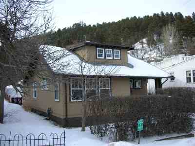 Deadwood SD Single Family Home For Sale: $154,211