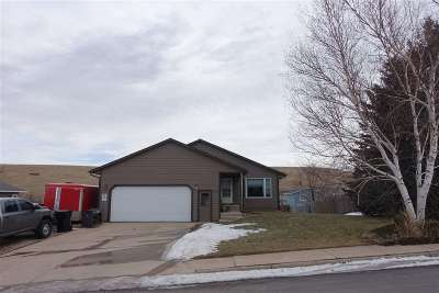 Spearfish SD Single Family Home For Sale: $225,500