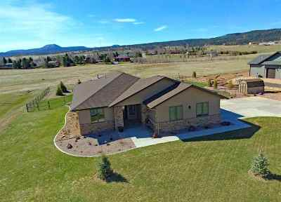 Spearfish Single Family Home For Sale: 2475 Tumble Weed