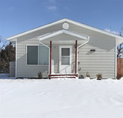 Rapid City Single Family Home Financing Contingency: 1304 Wood