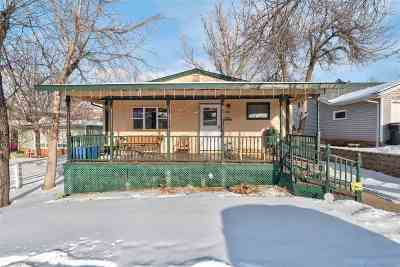 Spearfish Single Family Home Uc-Contingency-Take Bkups: 218 Hillcrest