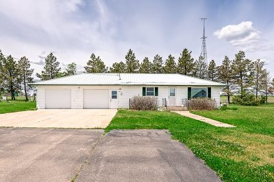 Belle Fourche Single Family Home For Sale: 18691 Highway 85