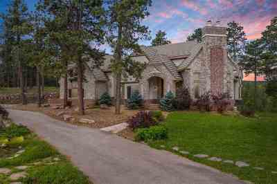 Spearfish SD Single Family Home For Sale: $1,750,000