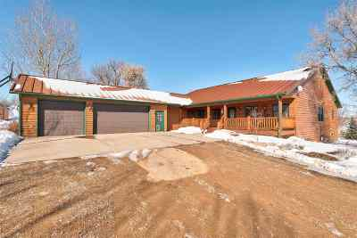 Belle Fourche Single Family Home Under Contract-Dont Show: 10915 Summer Creek