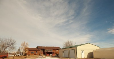 Belle Fourche Single Family Home Uc-Contingency-Take Bkups: 1420 National Street