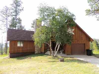 Deadwood, Lead Single Family Home For Sale: 21193 Lookout